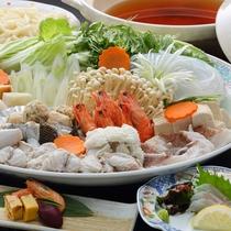 ふるさと旬菜『寄せ鍋』(一例)