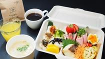 ロッジ朝ごはん『小豆島BOX』(一例)