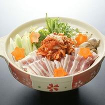 *夕食一例(冬)/豚キムチ鍋