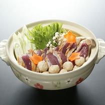 *夕食一例(冬)/鴨鍋