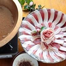 期間限定「しし鍋」