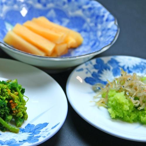 体に優しい自家製野菜♪