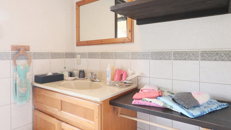 特別室-大黒天の間--専用洗面台