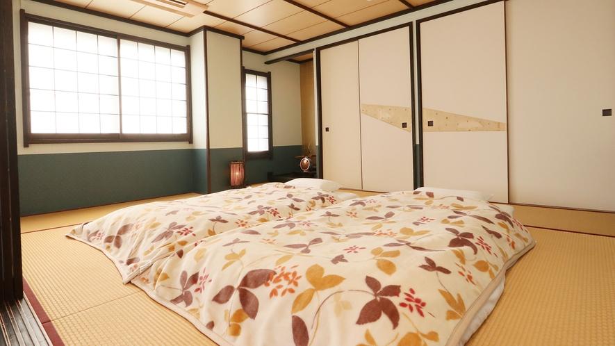特別室-大黒天の間--贅沢空間にある寝室で至福のひとときを
