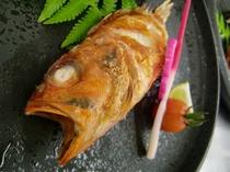 キンキ塩焼き(焼物一例)