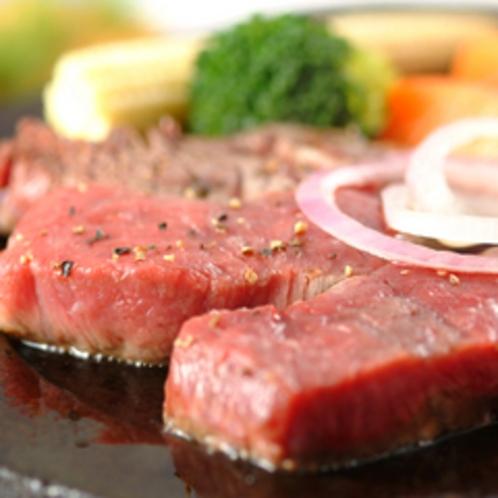 但馬牛石焼きステーキ