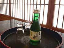 香住の地酒 香住鶴の冷酒