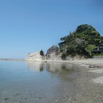 春の静かな今子浦海岸♪