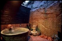 温泉 小さな露天風呂