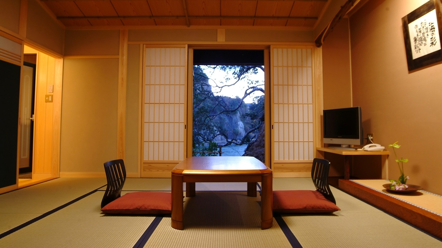 【海の彩】檜風呂付特別室