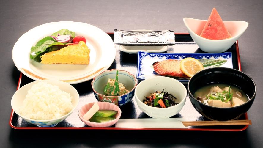 【朝食一例】栄養満点!の朝食で元気をチャージして出発♪