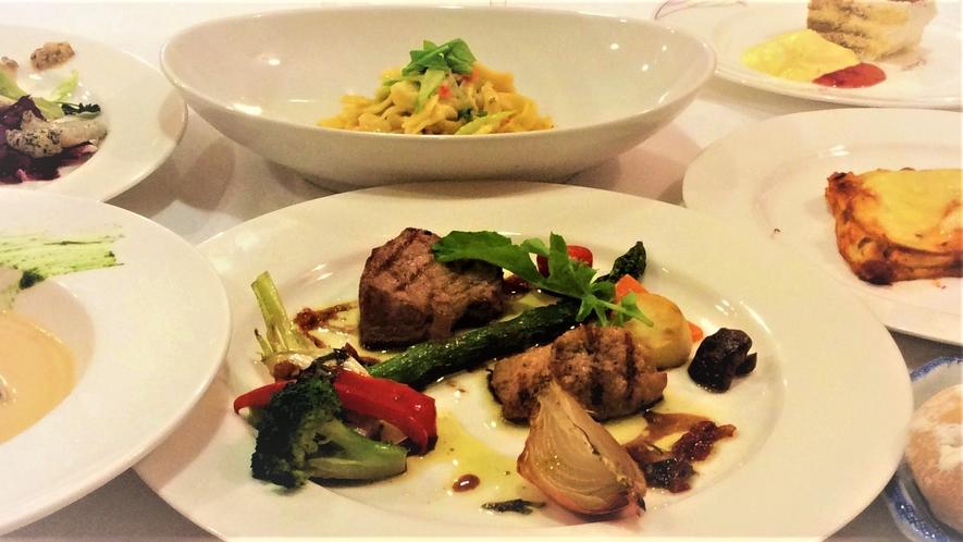 イタリア料理フルコース