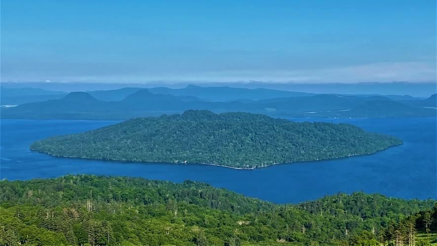 美幌峠からの屈斜路湖