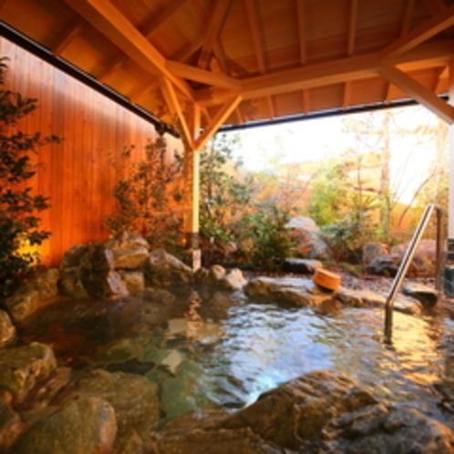 草月の湯 露天風呂(昼)