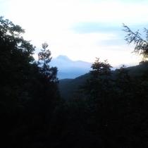 テラスからの景色