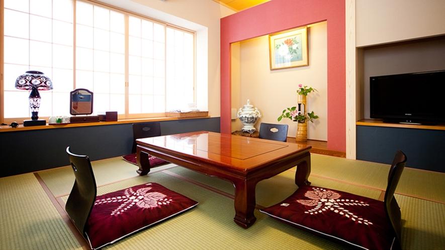 *客室/シンプルな和室。全室Wi-fi接続可能です。