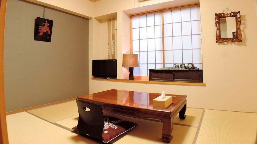 *客室/和室6帖。1名様からご利用可能です。