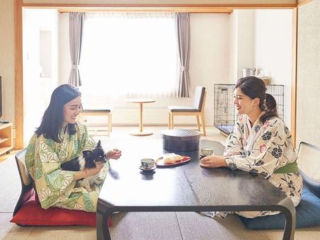 ■お布団ルーム/【和室】【禁煙】<山側>