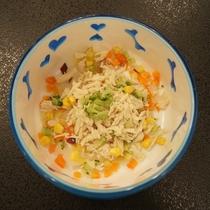 ワンちゃん用お食事/鶏肉お野菜きざみ※予約時別途注文