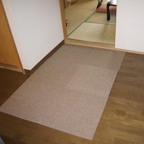 室内/和室板の間タイルカーペット
