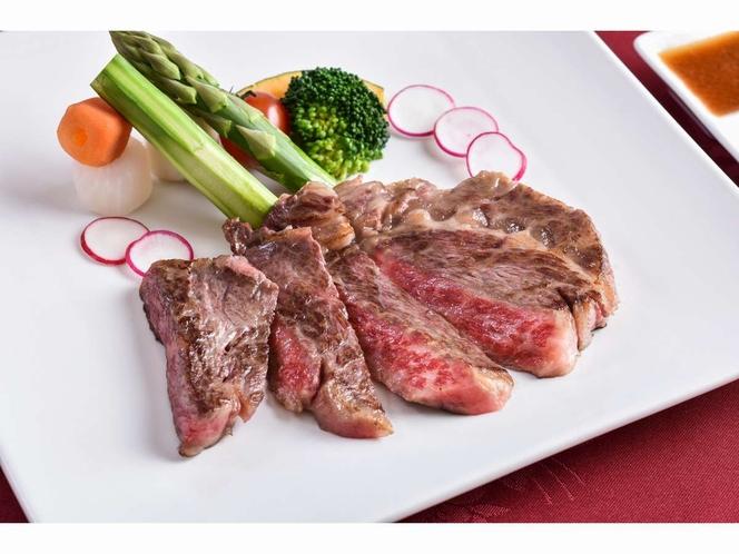 グレードアップメニュー:とちぎ和牛のステーキ