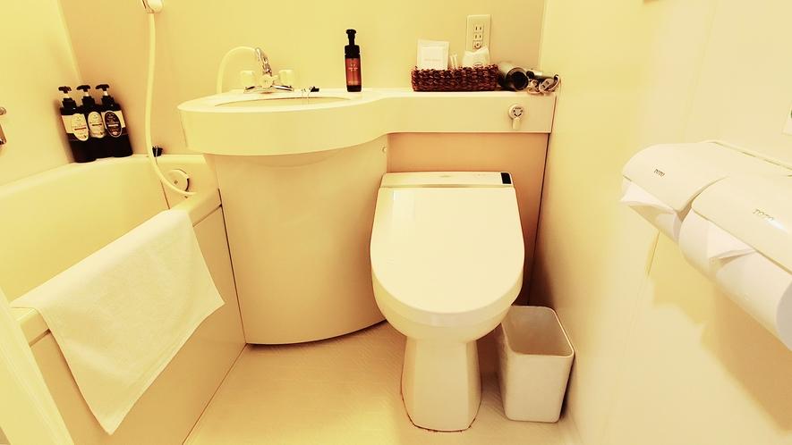 シングルルーム(AB)・バスルーム