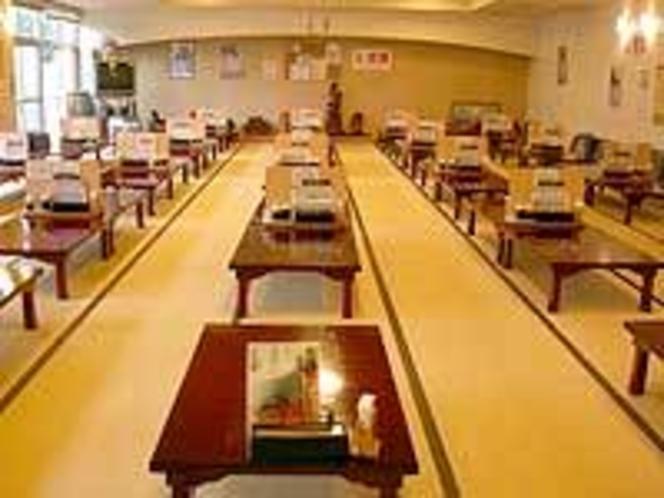 温泉内食堂