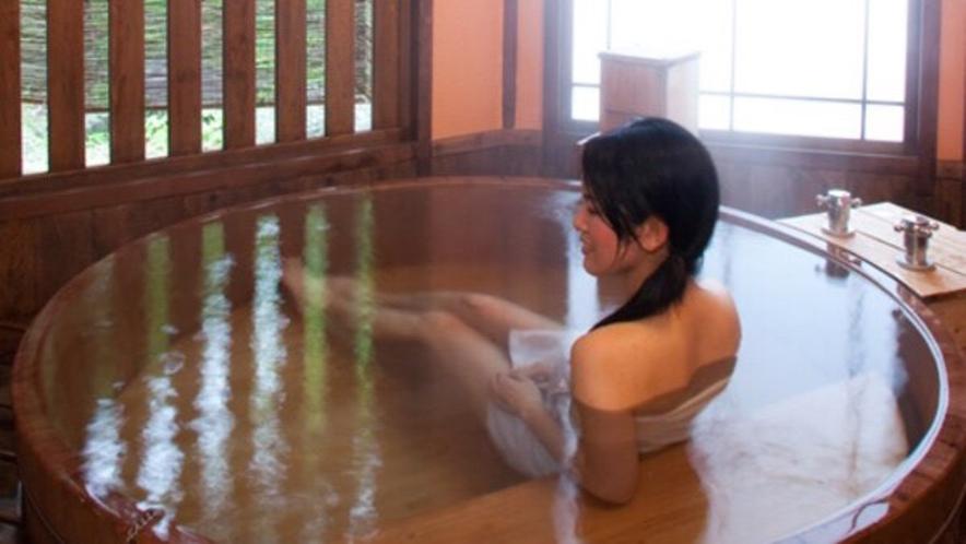 プライベートな空間で美肌の湯を心行くまで♪