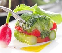 彩り野菜のテリーヌ