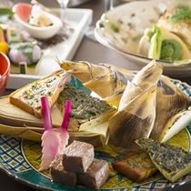 春の懐石料理〜筍
