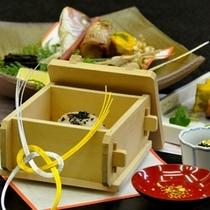 お祝い膳(お赤飯&小鯛)