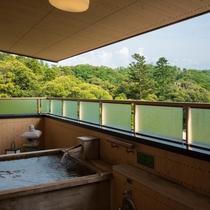 ひのき露天風呂付客室
