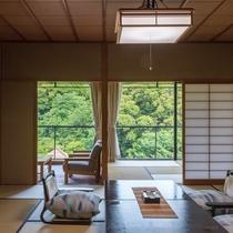 夏の和室一例