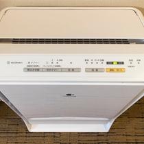 設備:加湿空気清浄機