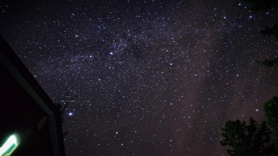 帯広八千代の星空 夏 天の川