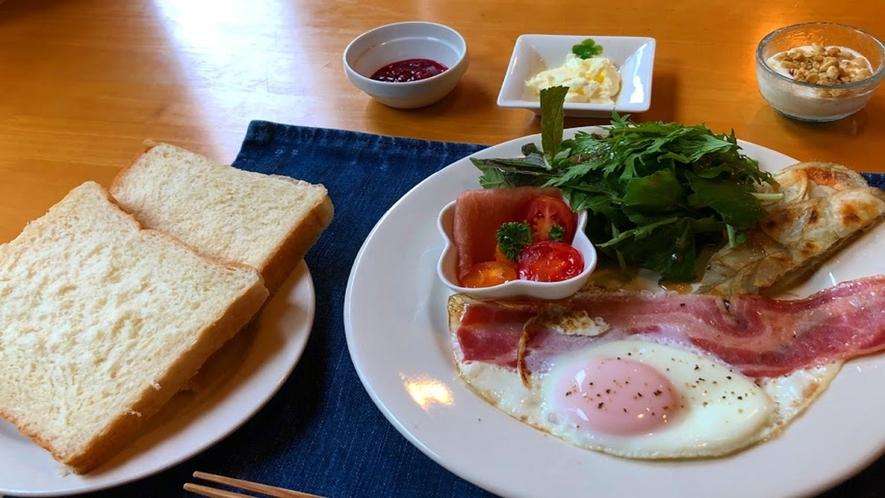 帯広八千代の朝食