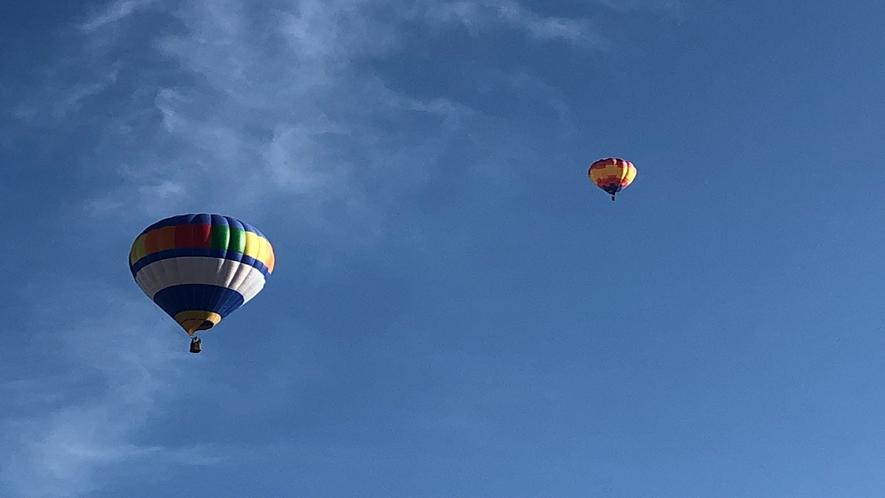 十勝の空を気球でお散歩ツアー