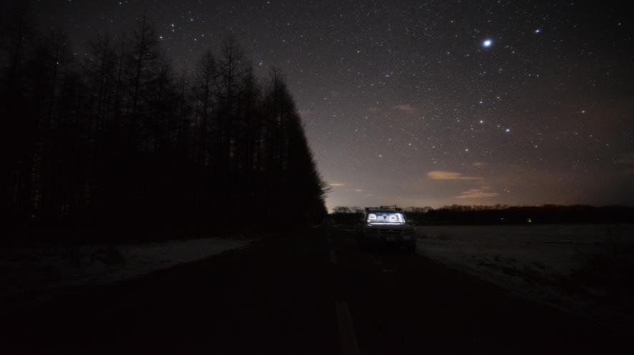 帯広八千代の星空 冬