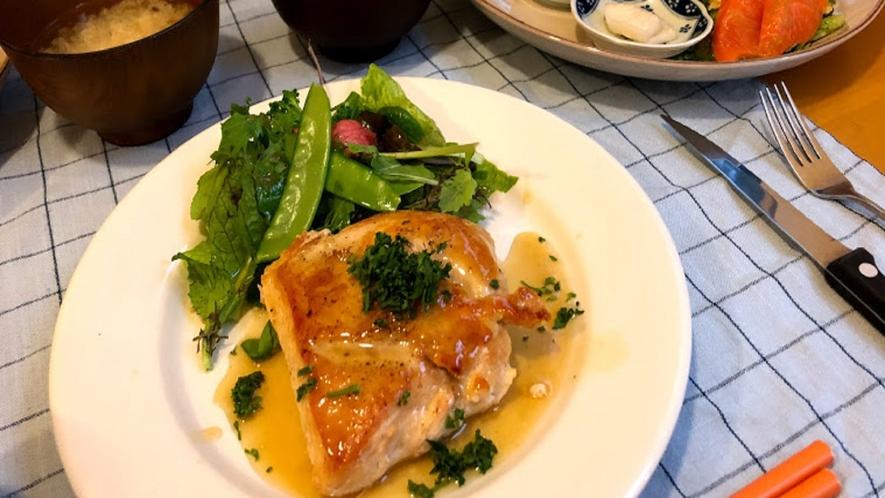 帯広八千代の夕食