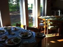 ある夏の朝食