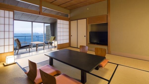 ◆眺望自慢の客室◆【湖側】舟の棟:和室10畳 禁煙