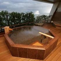 露天風呂【御影石】