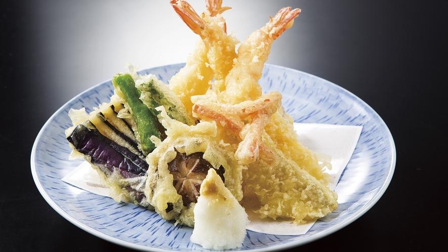 別注料理 季節の天ぷら