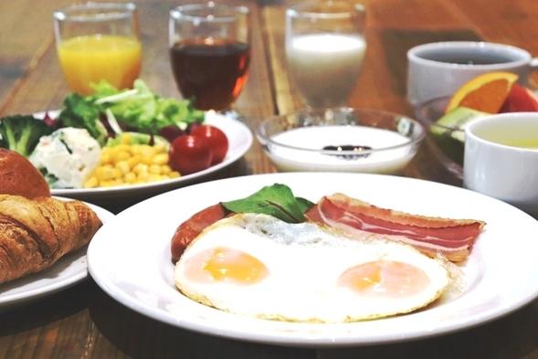 【夏旅セール】◇◆4種から選べるメインメニュー&ハーフビュッフェの朝食付プラン◆◇