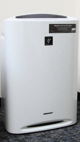 【客室設備・備品】加湿機能付き空気清浄機