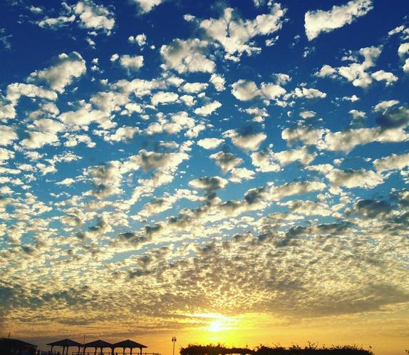 小浜の夕日