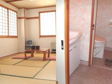 当館おまかせ 和室 トイレ付