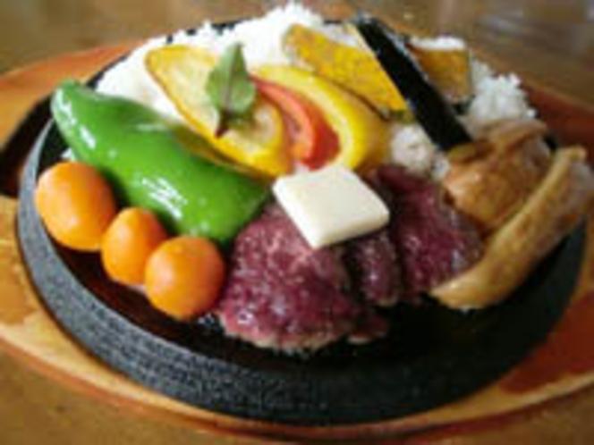 エゾシカのヒレステーキカレー