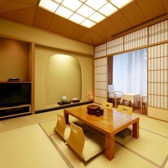 【禁煙】檜風呂付和室