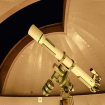 天文台の天体望遠鏡